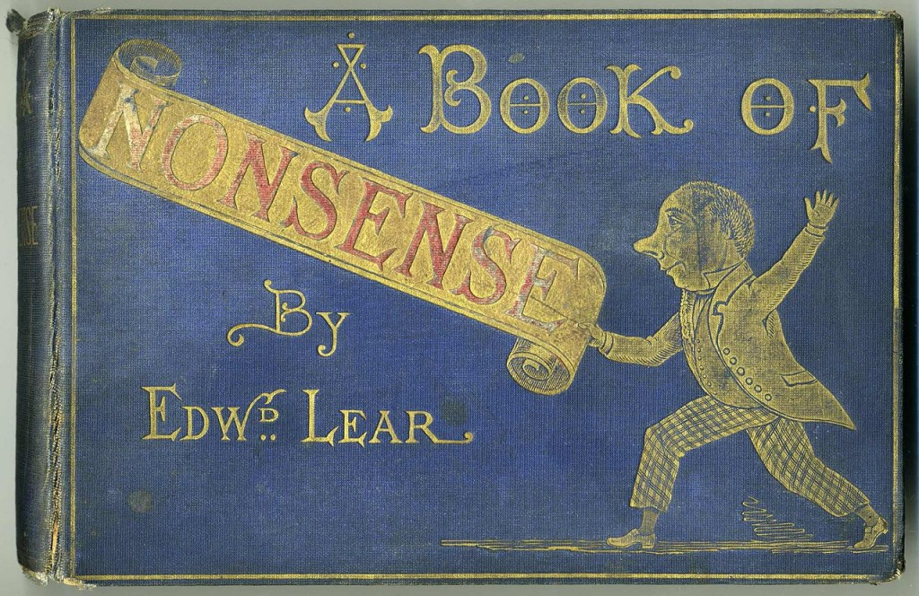 Image of cover of book that reads A Book of Nonsense
