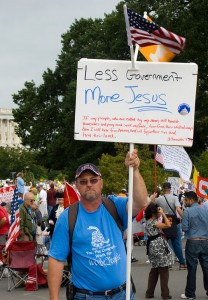 Less Evil-Obama Government, More JESUS!
