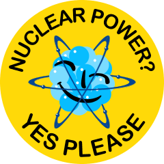 Nuclear power? Yes, please.