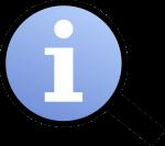 Information_magnifier_icon 540x480 public domain