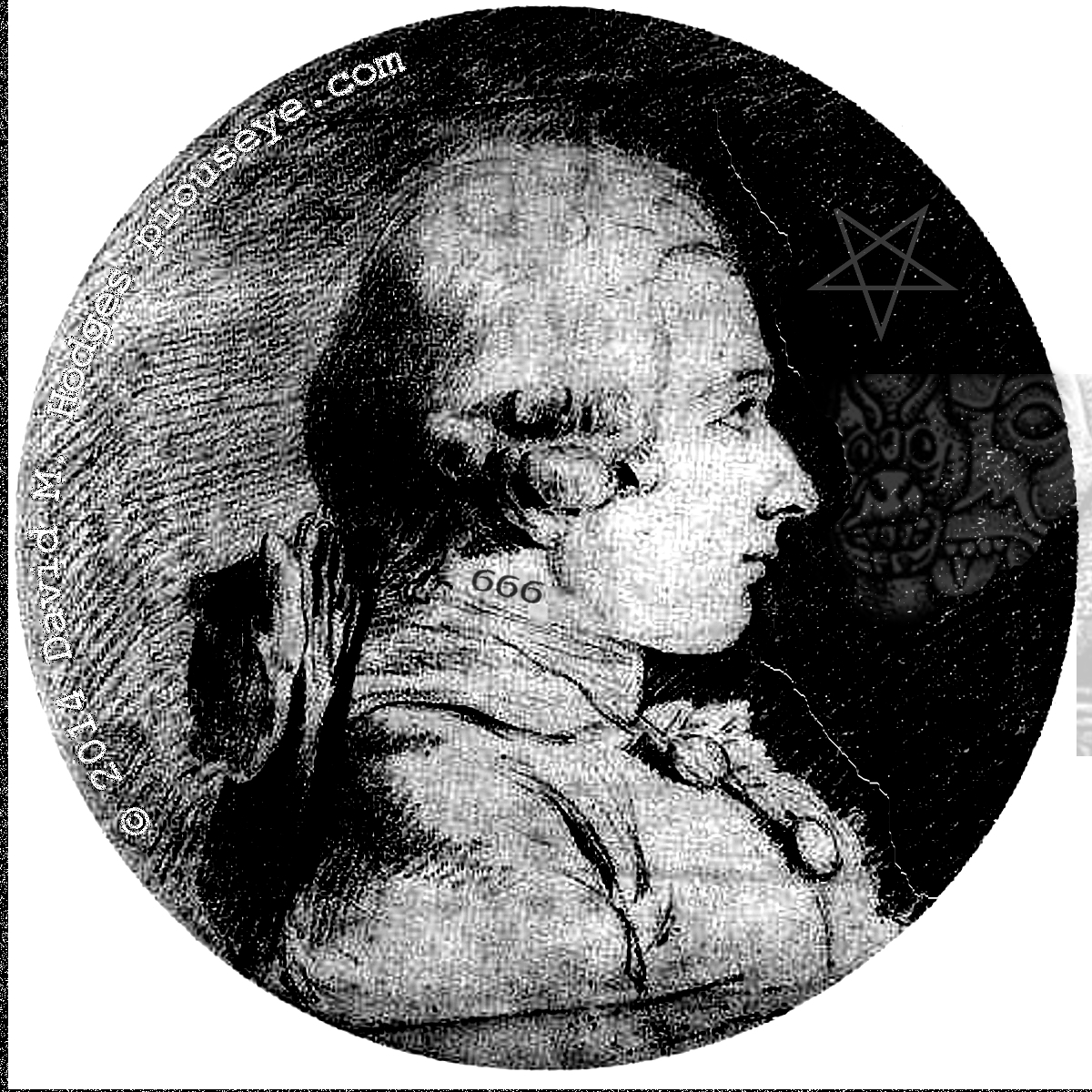portarit of the Marquis de Sade