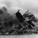 The_USS_Arizona_(BB-39)_burning_after_the_Japanese_attack_on_Pearl_Harbor_NARA_195617_public_domain_1200x1200crop