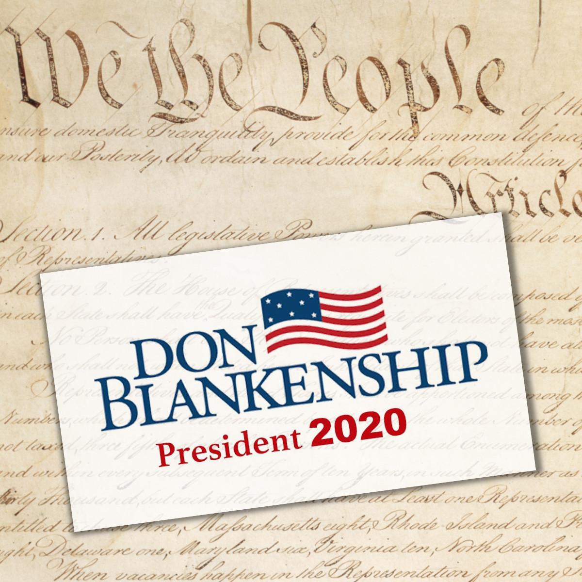 Californians for Blankenship: An Update
