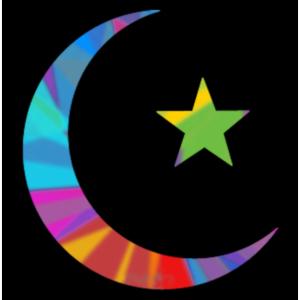 Colorful Islam Symbol