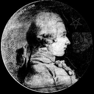 portrait of the Marquis de Sade