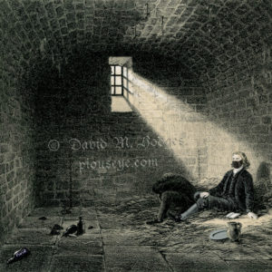 Two poor prisoners in their COVID-19 isolation chamber